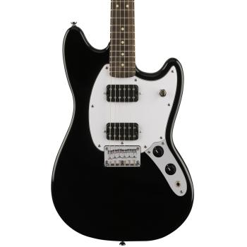 Fender Squier Bullet Mustang RW HH Black. Guitarra Eléctrica