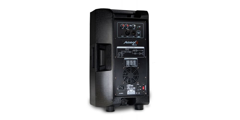 audibax pro 10 conexiones