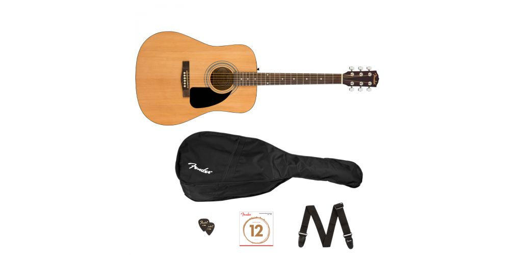 fender fa115 ii pack natural