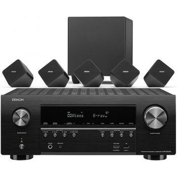 DENON AVR-X1500H+SYS2020 Conjunto Altavoces Home Cinema