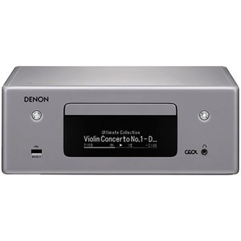 DENON RCD-N10 Receptor CD de audio en Red.Gris