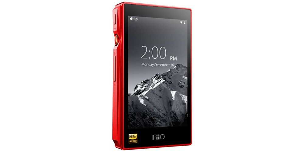 FIIO X5 III Portable HD Player Red reproductor hi res