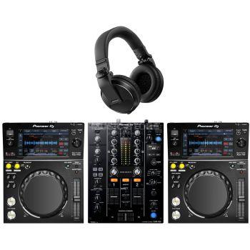 Pioneer Pack 2 XDJ-700 + DJM-450 + HDJ-X5K