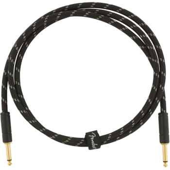 Fender cable Jack Deluxe 1,5m Tweed Black Jack Mono a Jack Mono