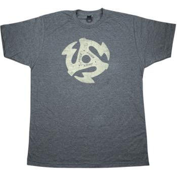 Gretsch 45RPM T-Shirt Gris Jaspeado Talla L