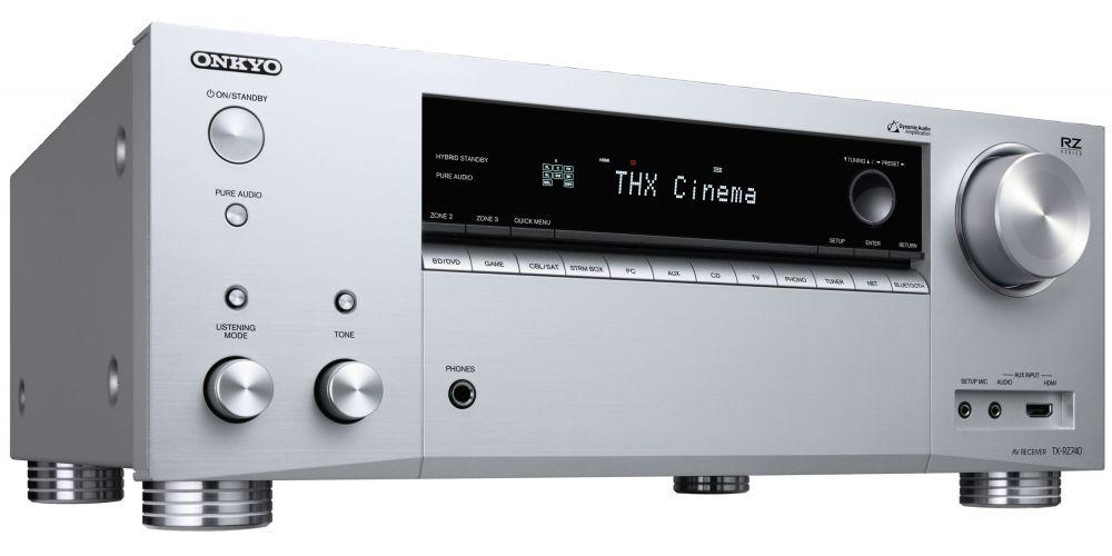 ONKYO TX RZ740 silver Receptor AV 9 2 canales