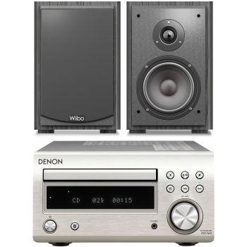 DENON RCDM-41 Silver + Wiibo Karino 400 conjunto audio