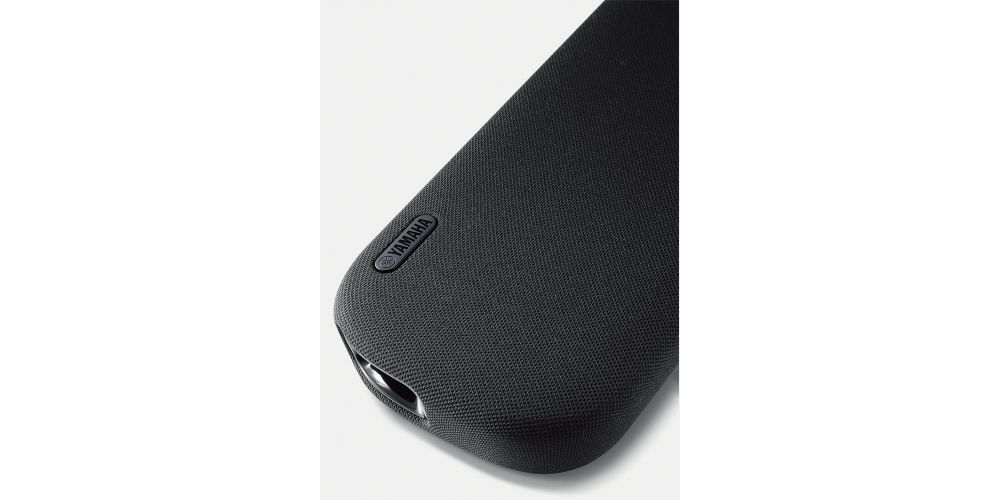 Yamaha 109 Barra sonido diseño minimalista control voz Alexa Bluetooth yas109 en casa