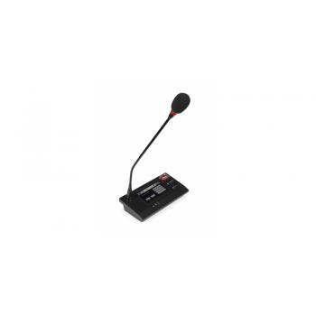 Fonestar ZS-200M Micrófono para Central Megafonía EN 54