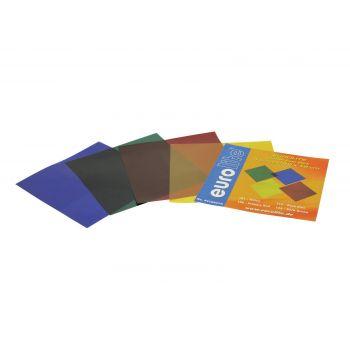Eurolite Juego de Láminas de Colores 19x19cm 4 Colores