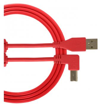 Udg U95006RD Ultimate Cable USB 2.0 A-B Rojo en Angulo 3M