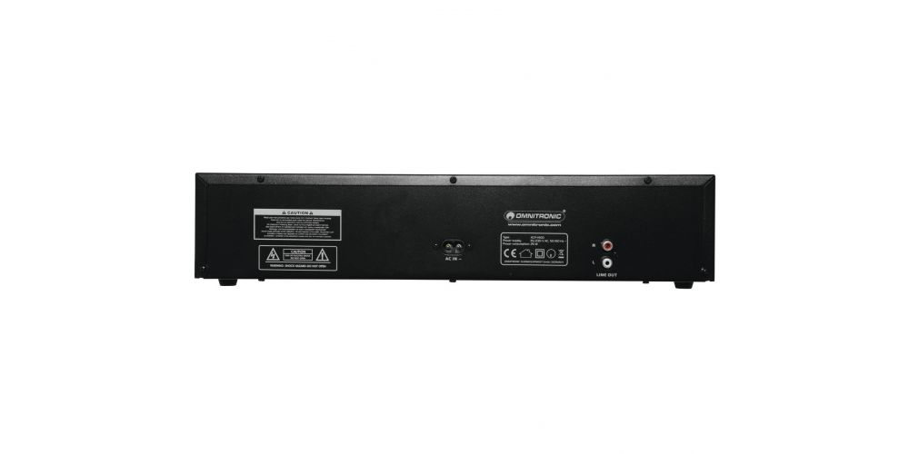 omnitronic xcp 1400 trasera