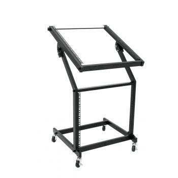 Omnitronic Rack Stand 12U-10U Mueble Rack con Ruedas