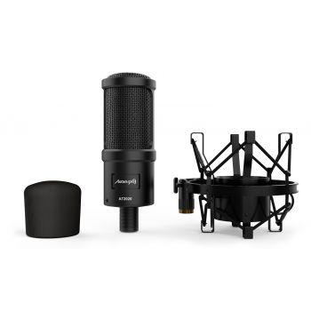 Audibax AT2020 v2 Micrófono Estudio Profesional Condensador