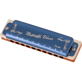 Fender Armónica Midnight Blues E