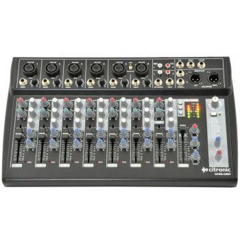 Citronic CM8-DSP Mesa de Mezclas de 8 Canales con DSP y USB 170832