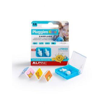 Alpine Pluggies Kids Tapones para los Oídos para Niños