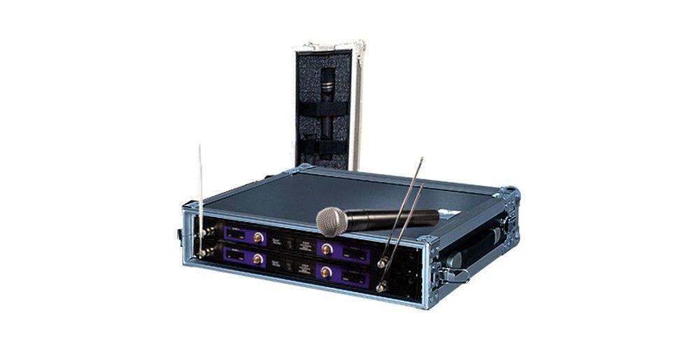 Walkasse  WR-2U MIC Maleta  para transportar microfonos