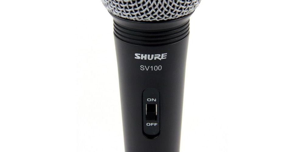 Shure SV100 details