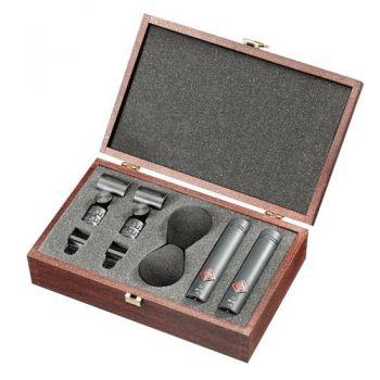 NEUMANN KM185 Stereo Set MT, Microfono Cardioide,Negro