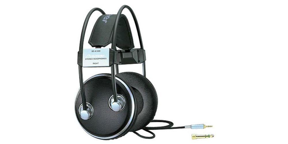 PIONEER SE-A1000 Auriculares Abierto Negro