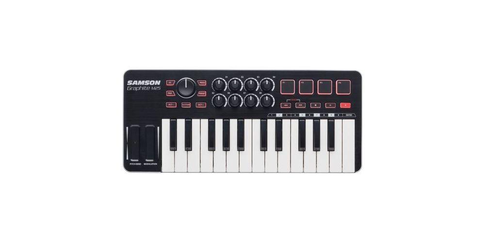 GRAPHITE M25 teclado controlador midi