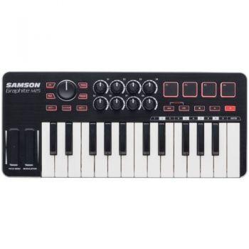 SAMSON GRAPHITE M25 TECLADO USB/MIDI