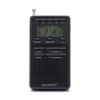 SUNSTECH RP-DS8 Radio Digital 20 Presintonias