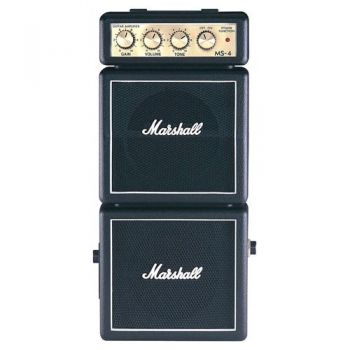 MARSHALL MS-4 Amplificador Guitarra Mini 2 x 2W, Clasic, MMAMS4