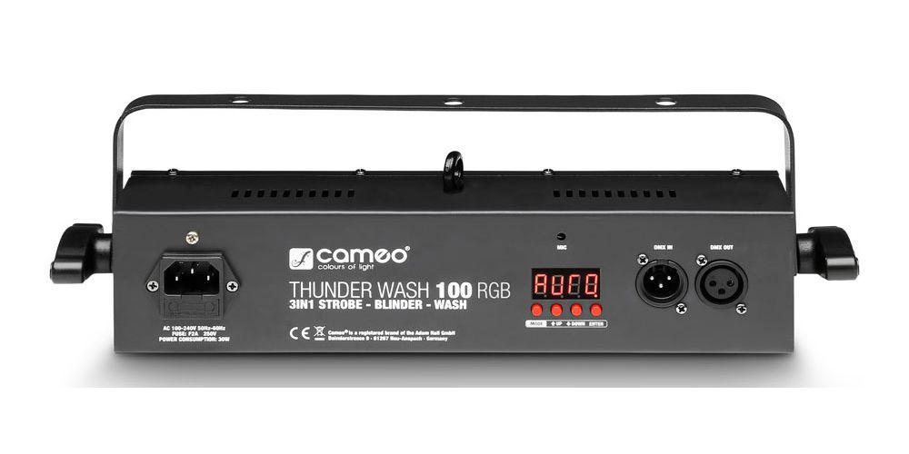 CAMEO CLTW100RGB Estrobo, cegadora y washer