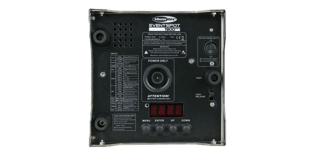 dap audio case eventspot 1900mkii 42718 back