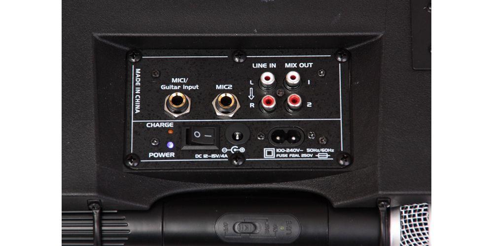 ibiza sound port 85vhf bt 2
