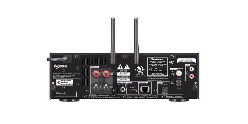 pioneer X HM76B minicadena componentes wifi