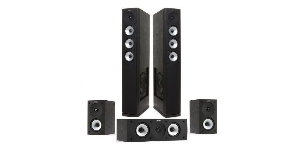 JAMO S628 HCS Negro Conjunto altavoces5 1
