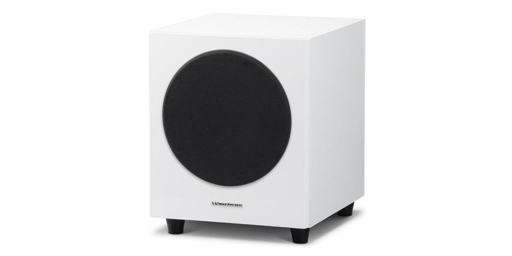 wharfedale d8 white subwoofer blanco