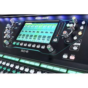 Allen & Heath SQ-6 Mesa Digital de 48 Canales