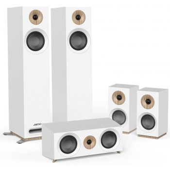 Jamo S805 HCS White Altavoces Home Cinema 5.0