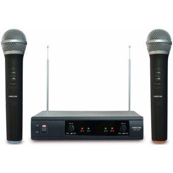 Fonestar MSH-206 Doble micrófono inalámbrico de mano VHF