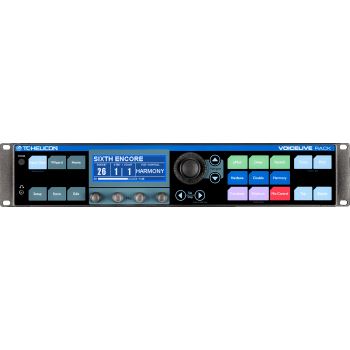 TC Helicon VoiceLive Rack Procesador de Efectos Vocales Estudio - ( REACONDICIONADO )