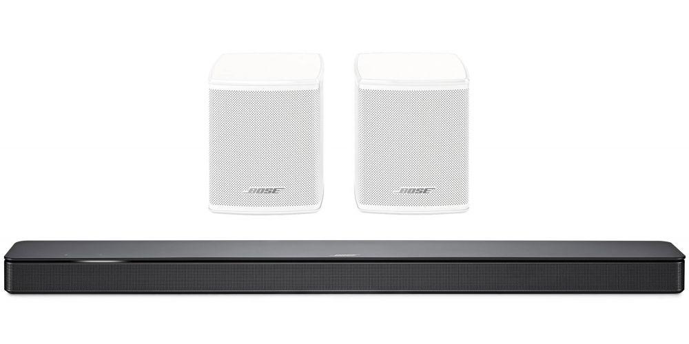 bose soundbar 500 surround speaker white