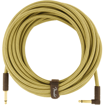 Fender Deluxe Tweed Natural. Cable Jack Recto a Jack Acodado de 7.5 Metros