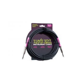 Ernie Ball 6046 Cable Ultraflex Jack a Jack 5 Metros Negro