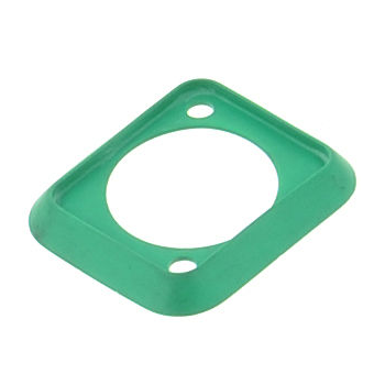Neutrik SCDP-5 Tapa Trasera Protectora Color Verde