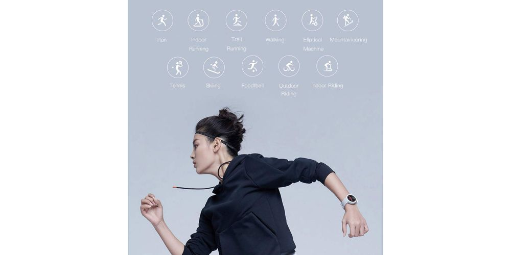 xiaomi amazfit verge blue reloj deportivo inteligente aplicaciones