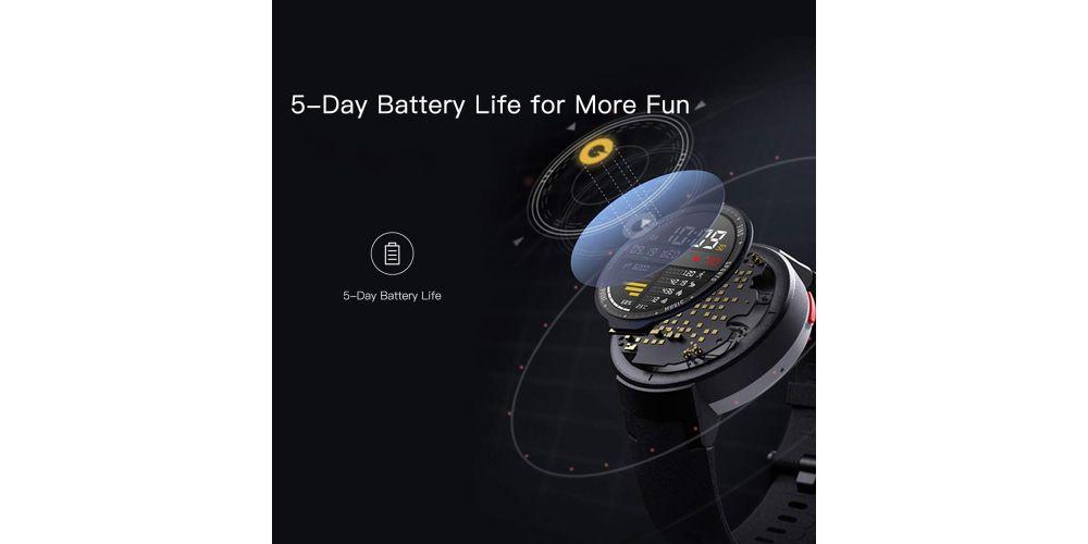 xiaomi amazfit verge blue reloj deportivo inteligente bateria cinco dias