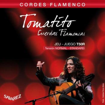 Savarez T50R Tomatito Set de Cuerdas Guitarra Flamenca