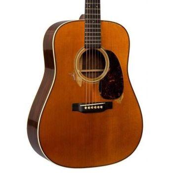 Martin D28-AUTH37AGED Guitarra Acústica con Estuche