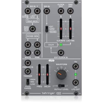 Behringer 150 RING MOD/NOISE/S&H/LFO Modulo Sintetizador Serie 100