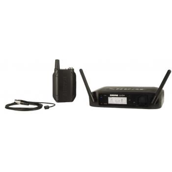 SHURE GLXD14E/93 Z2 Micrófono Omnidireccional Lavalier en Miniatura con Transmisión Inalámbrica digital.