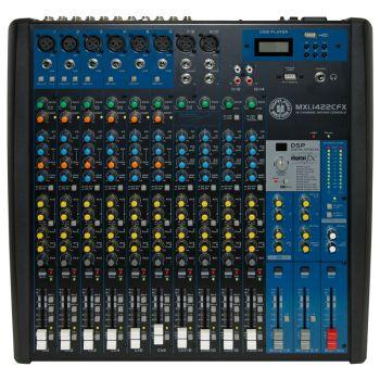 Topp Pro MXI.1422CFX Mezclador 14 Canales con Efectos y MP3